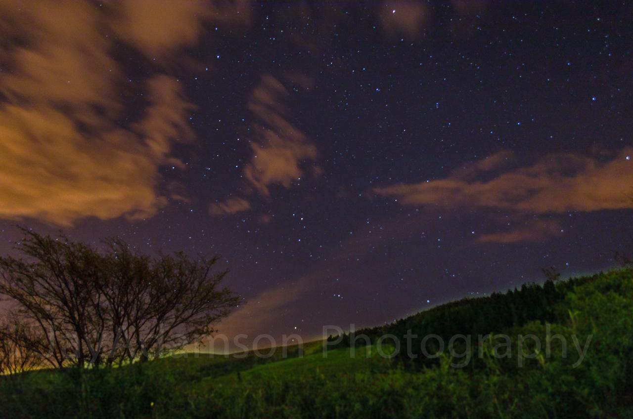Starry night in Tal-y-Bont