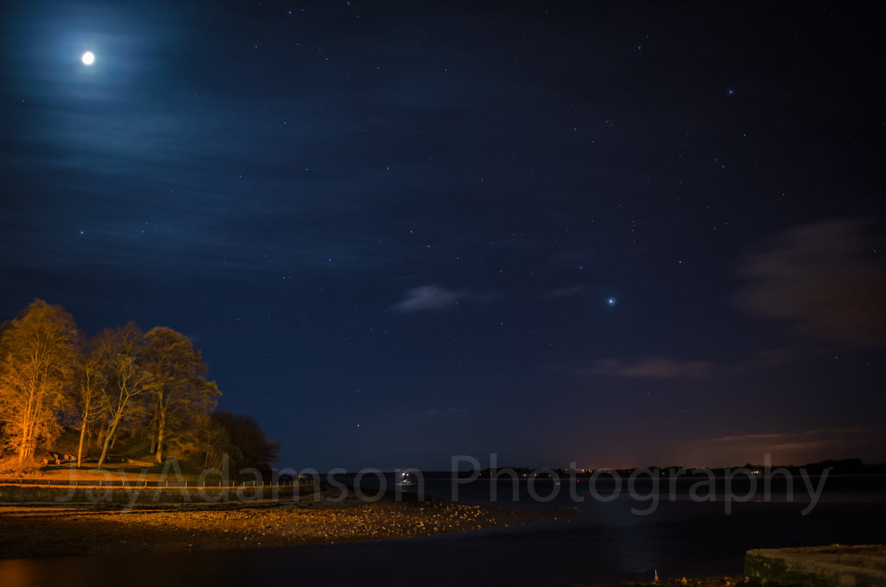 Venus over Anglesey