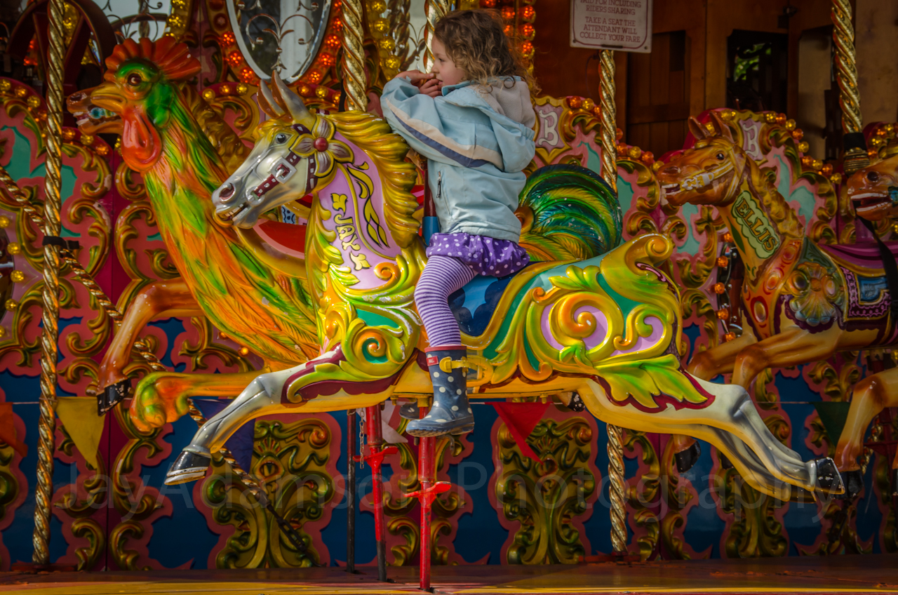 A Carousel Horse with my name