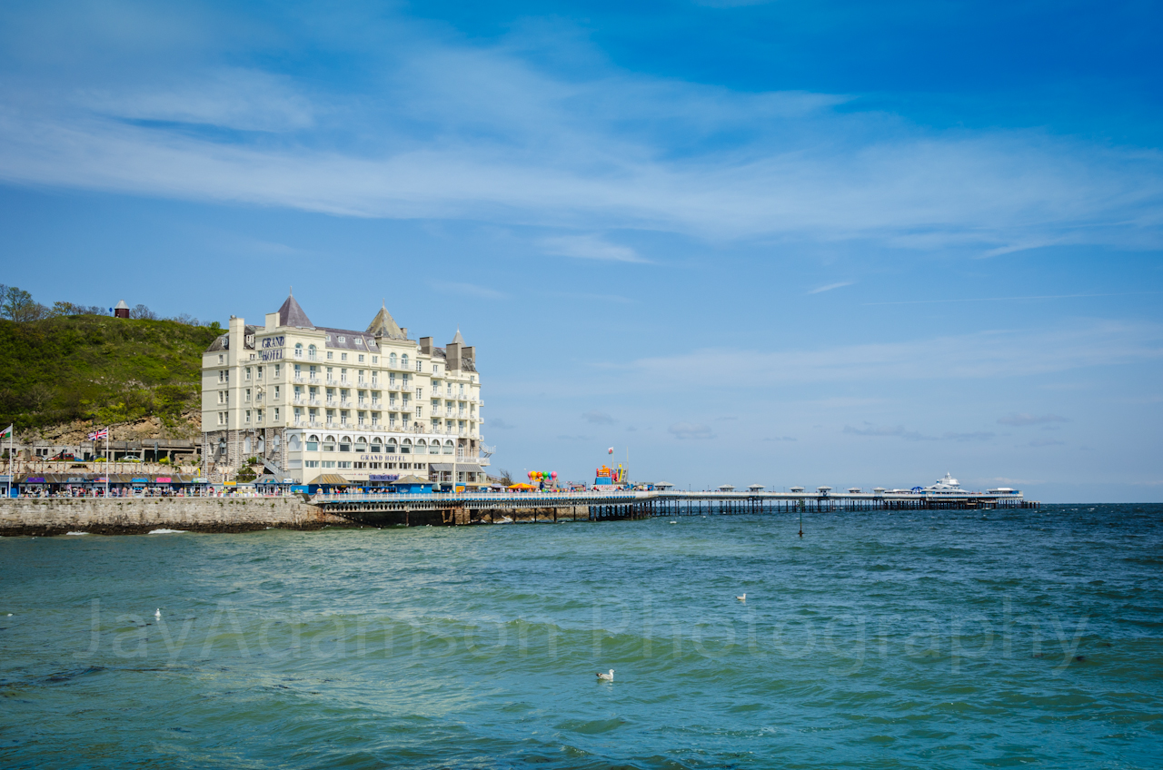 The Grand Hotel and Llandudno Pier