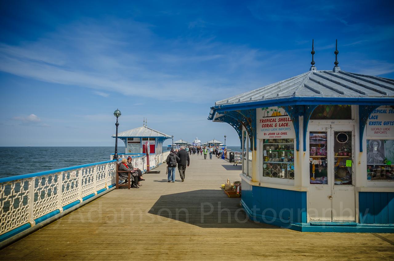 Kiosk on Llandudno Pier